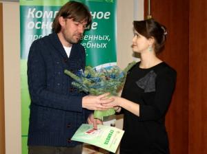 Награждение журналистов - Экостиль-2013